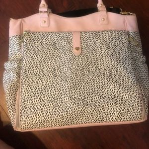Dotted Betsey Johnson Laptop Bag